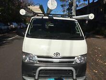 2011 Toyota Hiace LWB with Shelving, racks & bars Belrose Warringah Area Preview
