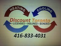 Reliable Heating A/C services and gas line