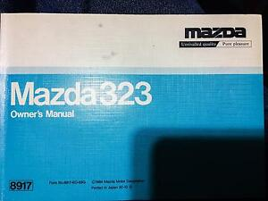 Mazda 323 owners manual Blacktown Blacktown Area Preview