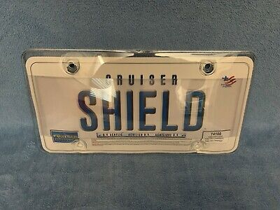 License Plate Cover Anti Red Light & Speed Camera PhotoShield - FREE SHIPPING!