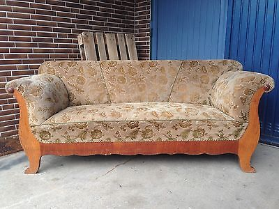 ANTIK Sofa Biedermeier Küchensofa Couch um 1860