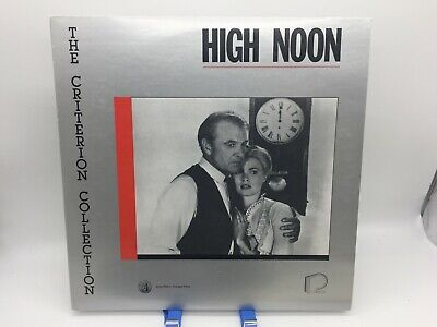 """""""High Noon"""" Criterion Collection #7 Laserdisc LD - Grace Kelly"""