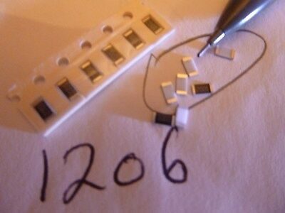 680 Ohm 1206 Size 1% Surface Mount Resistor 100 Pieces US Seller Prime (680 Ohm Resistor)