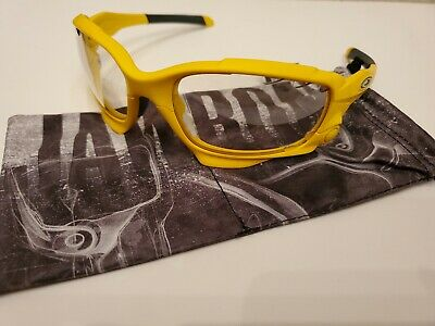 NEW & MINT CUSTOM OAKLEY JAWBONE MATTE YELLOW FRAME/ VENTED TRANSITION LENS (Oakley Transition Sunglasses)