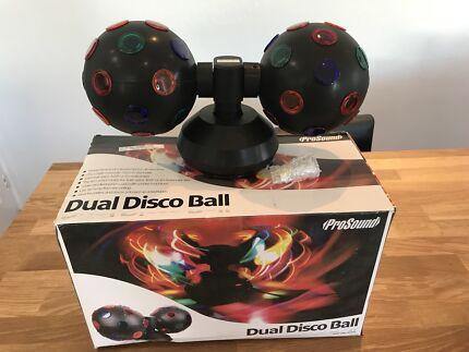 Prosound dual disco ball - DJ lights