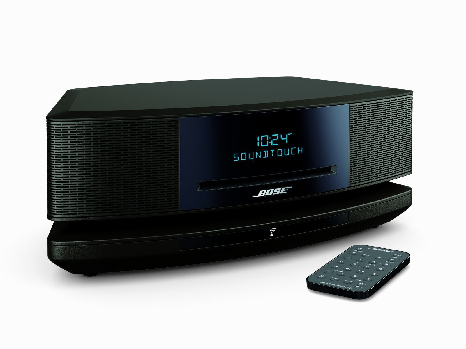 bose wave soundtouch music system iv remote cd player and radio espresso black. Black Bedroom Furniture Sets. Home Design Ideas