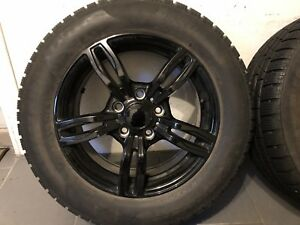 """16"""" BMW WHEELS AND WINTER TIRES"""