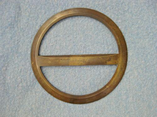Antique Brass Troughton & Simms London Circular Protractor Circa 1826 Nautical