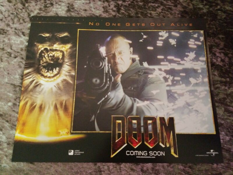 Doom lobby cards - Dwayne Johnson, The Rock,