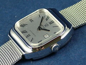 Vintage Retro Marvin Mechanical Automatic Ladies Watch NOS 1970s Old Stock MINT