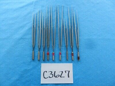 Scanlan Surgical Micro Surgical Forceps Lot Of 9