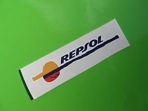 REPSOL sticker/decal x2