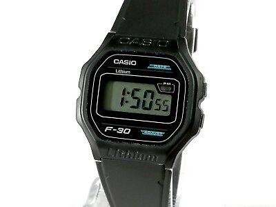 faffb37a61d1 Reloj pulsera hombre CASIO LITHIUM F-30 Vintage Original modulo 1007 nuevo