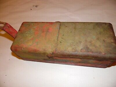 1955 Ford 600 Gas Farm Tractor Tool Box Dented