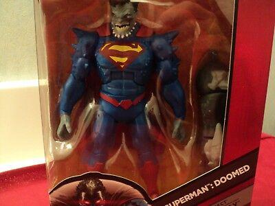 """Mattel Superman """"Doomed """" w/ accessories 7"""" figurine nib"""
