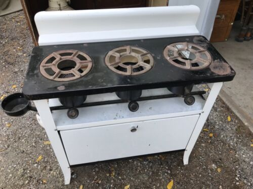 Antique 3 Burner Kerosene Stove