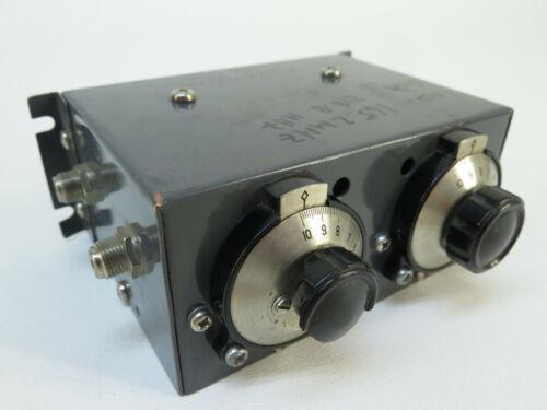"Channel Master Model 7009 Hi ""Q"" Trap Hi Band Low(165.2Mhz), High (218.8Mhz)"