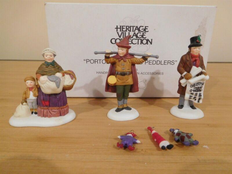Dept 56 Dickens Village - Portobello Road Peddlers - Set of 3 - Free Shipping