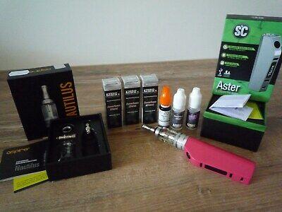 ASTER SC E-Cigarette komplett Tank System  3 xAmerican Blend 10ml neuw. gebraucht kaufen  Aschaffenburg