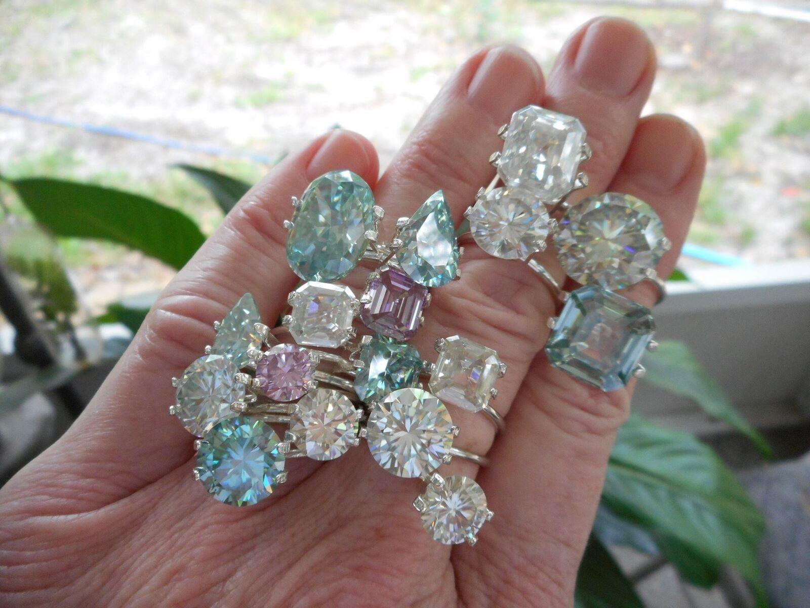 MOISSANITE DIAMONDS ARE FOREVER