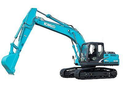 Kobelco SK2355R-1E, SK2355RLC-1E & SK2355RNLC-1E  Excavator - Workshop Manuals