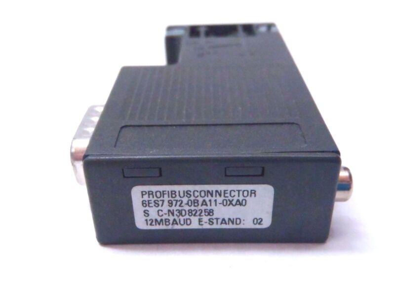 SIEMENS 6ES7972-0BA11-0XA0 PROFIBUS CONNECTOR