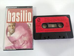 BASILIO-EXITOS-CASSETTE-TAPE-CINTA-ZAFIRO-1984-PAPER-LABELS