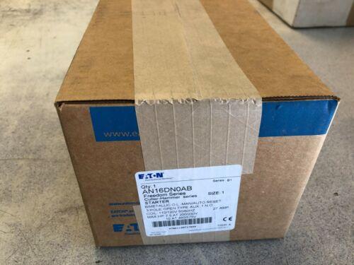 Eaton AN16DNOAB Size 1 Starter New In Box AN16DN0AB