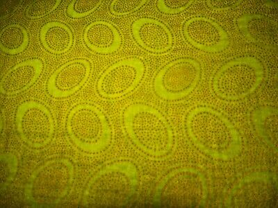 "Kaffe Fassett GP71   ""Aboriginal Dot""  fabric  Lime  BTY  $8.00"