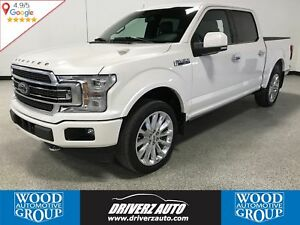 2018 Ford F-150 Limited LOADED WITH ADAPTIVE CRUISE AND LOTS...