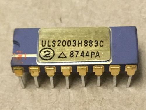 (1 PC)  SPRAGUE  ULS2003H/883C  Peripheral Driver, 16 Pin, Ceramic, DIP OLD GOLD