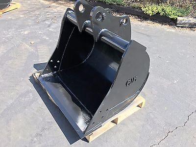 New 36 Backhoe Bucket For A John Deere 310se With Pins - No Teeth