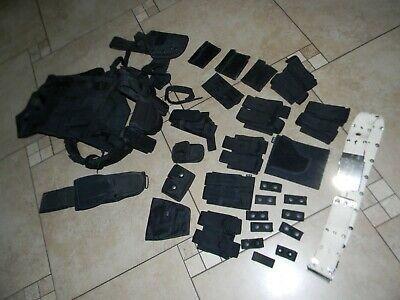 Swat Team Police Guard Tactical Gear Blackhawk Vest Belt Bianchi Holster Etc.