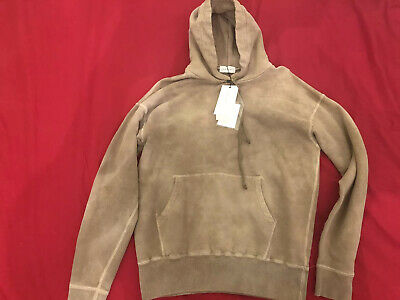 John Elliott Mens Tan Hoodie Size 2 Medium Marbled Dune New with tags