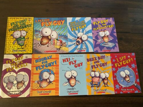 FLY GUY BOOKS - LOT OF 9