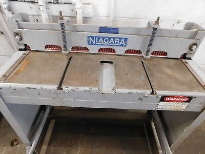 Niagara 36f Foot Stomp Metal Shear Cutter Nice Knife Solid Setup