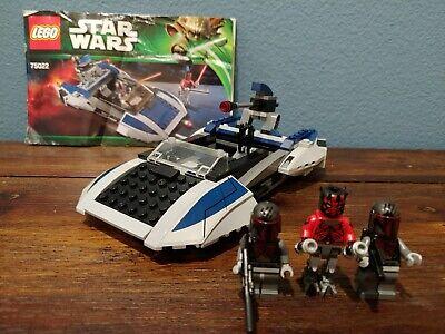 LEGO Star Wars Mandalorian Speeder (75022) with Minifigures