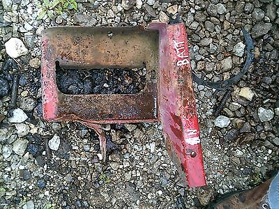 Ford 8n Tractor Tool Box Holder Battery Tray