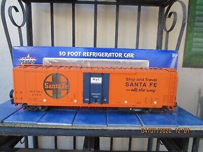 USA Trains R16701 Santa Fe refrigerator car With Metal Wheels