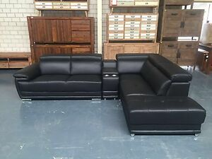 LEATHER SOFA SALE!! Leumeah Campbelltown Area Preview