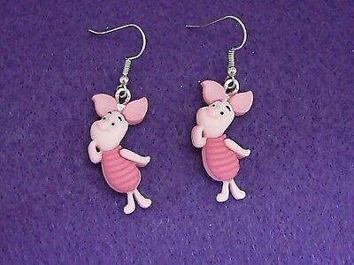 Disney Piglet Jewelry - Disney's Piglet   Winnie The Pooh Dangle Earrings