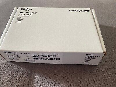Welch Allyn 06000200 Braun Thermoscan Pro 6000 Ear Thermometer - Brand New