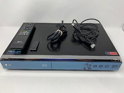 LG BLU-RAY DISC PLAYER BD390  w/ remote And hDMI tested and works great