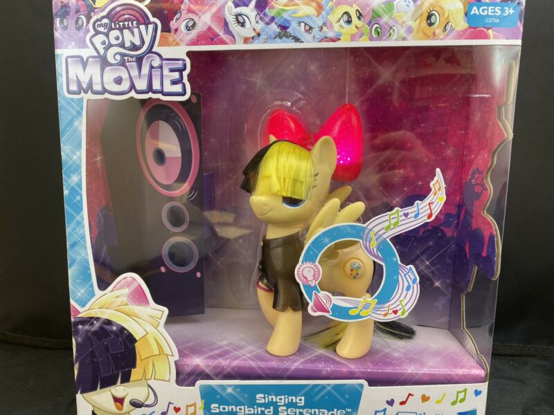 My Little Pony Movie Singing Songbird Serenade Sia/'s MLP Character NEW Target