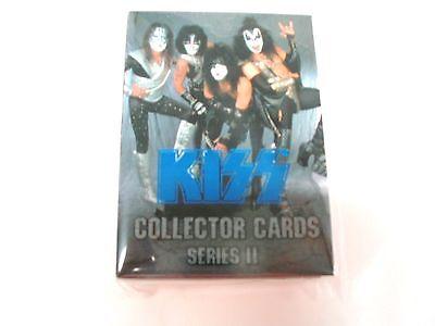 KISS cornerstone Series 2 complete Blue foil card set trading bubblegum 1998