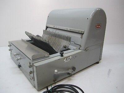 Commercial Industrial Berkel Tabletop 36 Blade 716 Bread Slicer Cutter Works