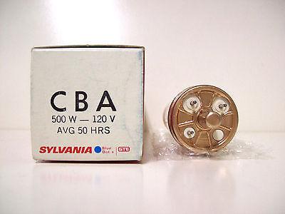CBA Projector Projection Lamp Bulb 500W 120V Sylvania *AVG. 50-HOUR LAMP* 500w Projector Lamp Bulb