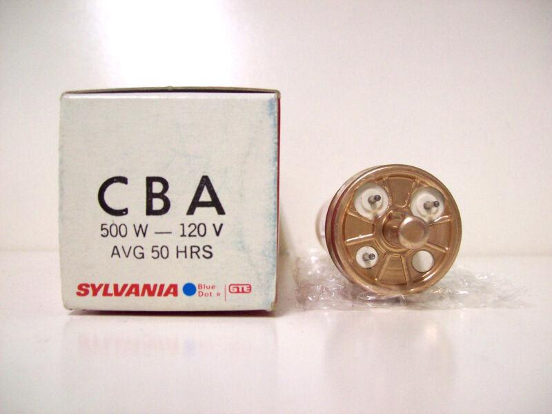 CBA Projector Projection Lamp Bulb 500W 120V Sylvania *AVG. 50-HOUR LAMP*