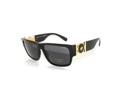 Versace 4369 GB1/81 Black Gray Polarized  Sunglasses D