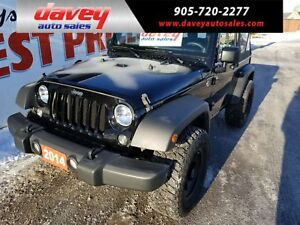2014 Jeep Wrangler Sport 4X4, SOFT TOP, MP3 INPUT, CD PLAYER